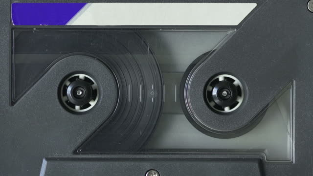 audio cassette tape - audio equipment stock videos & royalty-free footage