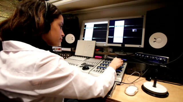 audio editor - editor stock videos & royalty-free footage