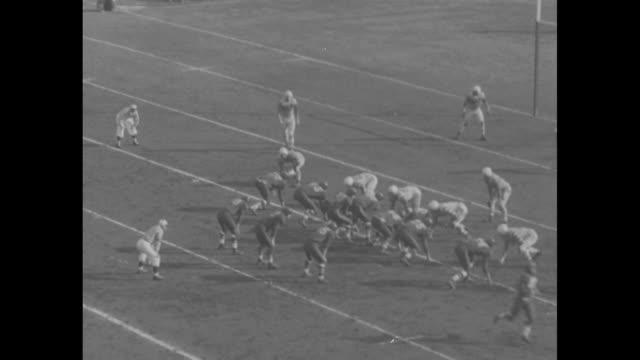 audio is sped up but video is realtime] toronto argonauts in stripedsleeve jerseys kick off to edmonton eskimos in dark jerseys in 40th grey cup... - argonaut stock videos & royalty-free footage
