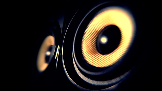 audio speaker - noise stock videos & royalty-free footage