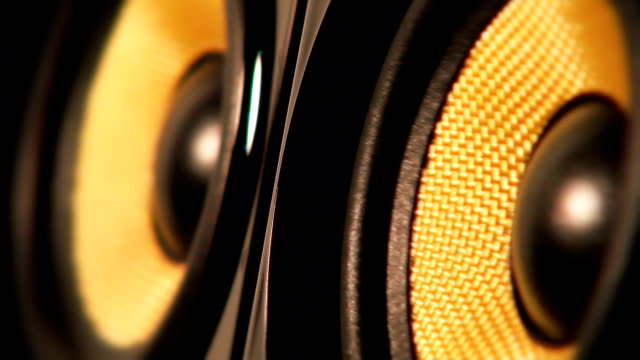 audio speaker - shaking stock videos & royalty-free footage