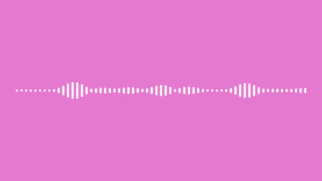 audio wave on color background. - spectrum stock videos & royalty-free footage