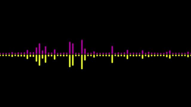オーディオ波 - 音響機器点の映像素材/bロール