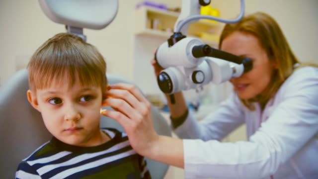 audiology examination - medical supplies stock videos and b-roll footage