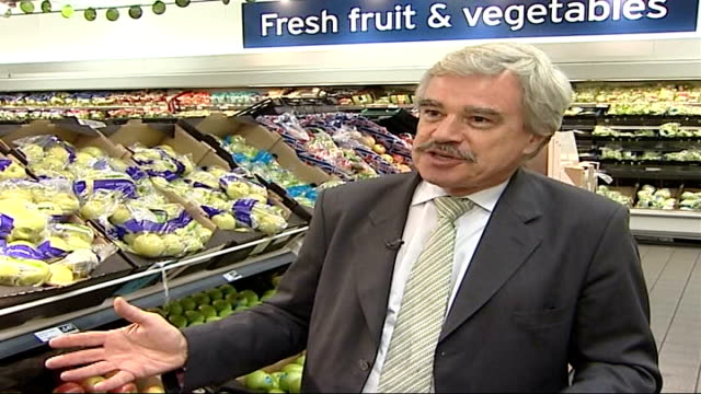 audit reveals extent to which supermarkets damage the environment london lord whitty interview sot talks about food transport causing damage to the... - audit stock videos and b-roll footage