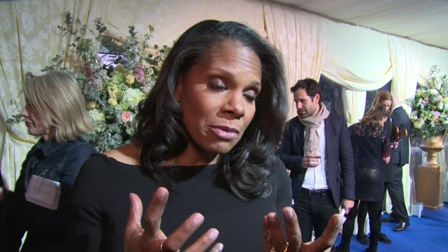 Audra McDonald on the movie genre and fellow cast at Spencer House on February 23 2017 in London England
