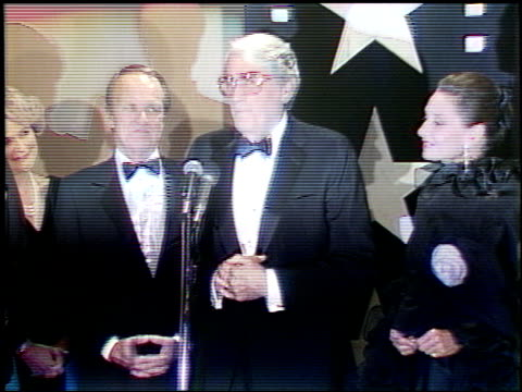 audrey hepburn at the afi awards honoring gregory peck at the beverly hilton in beverly hills california on march 9 1989 - gregory peck stock videos and b-roll footage