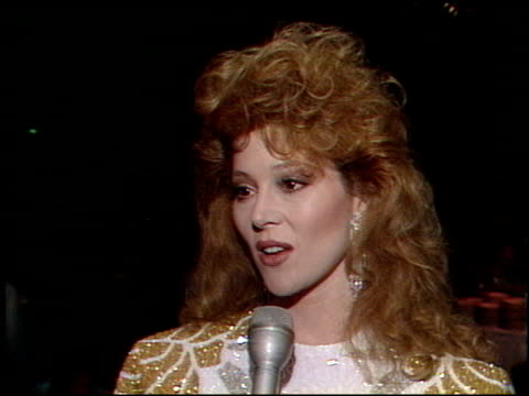 Audrey Landers at the Faces International Party at Hollywood Palladium in Hollywood California on May 7 1989