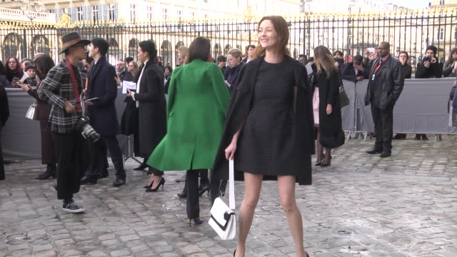Audrey Marnay attends the Christian Dior show as part of the Paris Fashion Week Womenswear Fall/Winter 2016/2017 on March 4 2016 in Paris France