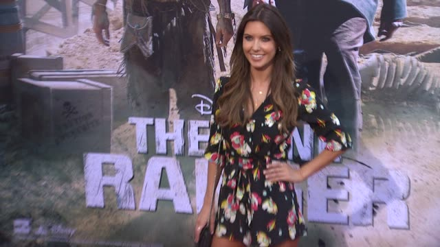 audrina patridge at the lone ranger los angeles premiere audrina patridge at the lone ranger los angeles at disney california adventure park on june... - the lone ranger 2013 film stock videos and b-roll footage