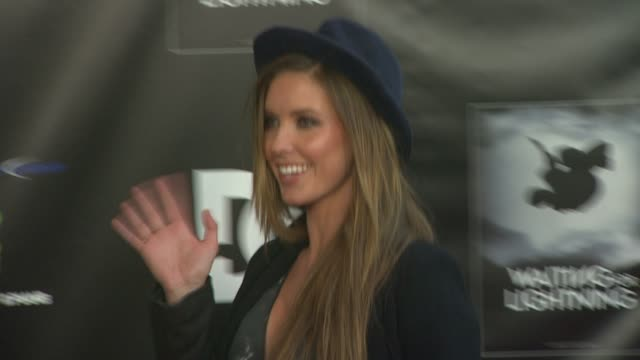 audrina patridge at waiting for lightning screening and afterparty presented by dc shoes a documentary about skateboarder danny way on 4/10/12 in los... - dc shoes stock videos & royalty-free footage