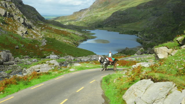Auger Lake In The Gap Of Dunloe In County Kerry