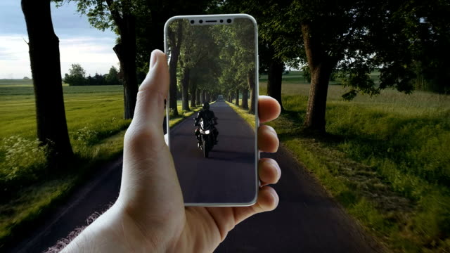 Augmented reality. World locked in a smart phone