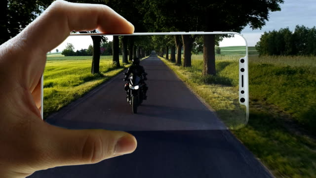 Augmented reality. World locked in smart phone