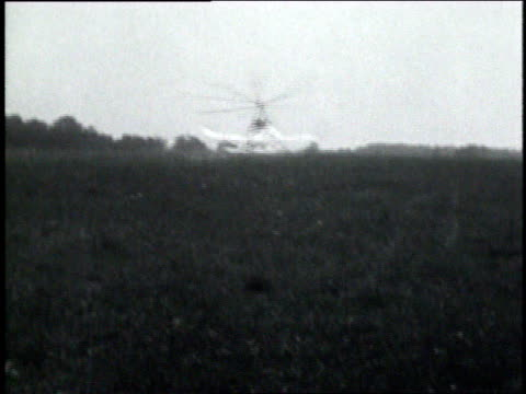 august 24, 1929 montage autogiro in flight / united states - 1929 stock videos and b-roll footage