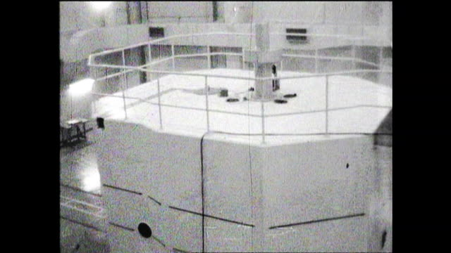 August 27 the first nuclear reactor in Japan started operation in Tokai Ibaraki workers in control room nuclear reactor under construction