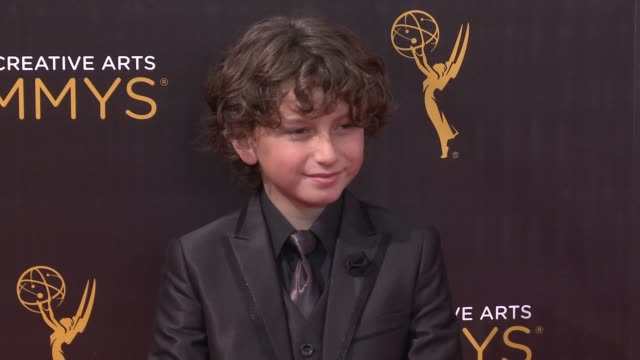 august maturo at the 2016 creative arts emmy awards day 1 arrivals at microsoft theater on september 10 2016 in los angeles california - maturo stock videos & royalty-free footage
