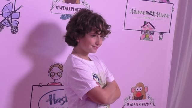 august maturo at the zimmer children's museum event on april 30 2017 in los angeles california - maturo stock videos & royalty-free footage