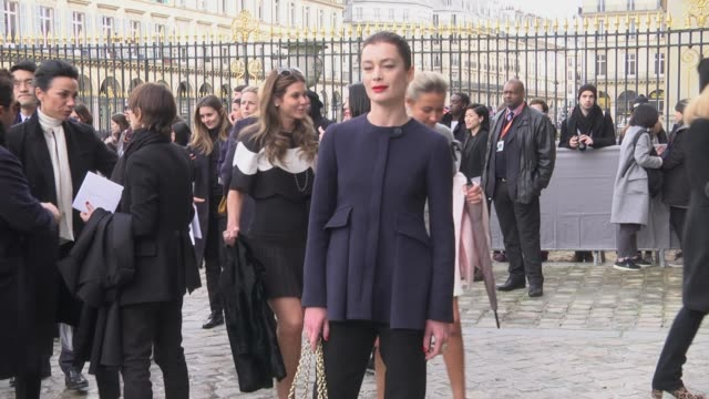 Aurelie Dupont attends the Christian Dior show as part of the Paris Fashion Week Womenswear Fall/Winter 2016/2017 on March 4 2016 in Paris France
