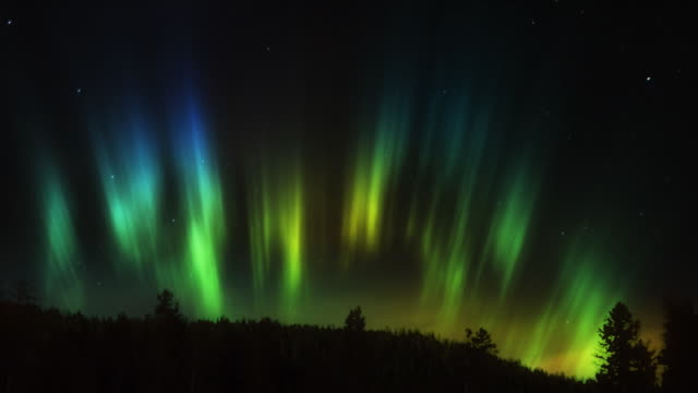 aurora borealis hd - real time stock videos & royalty-free footage