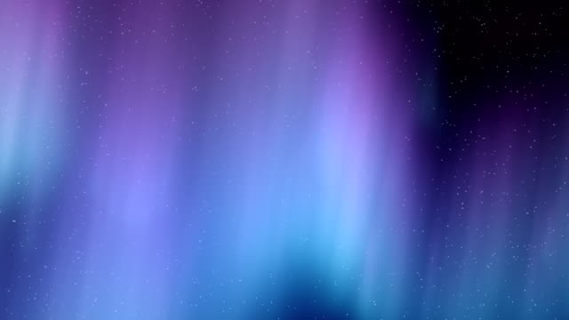 Aurora Borealis Purple Flythrough Motion Background