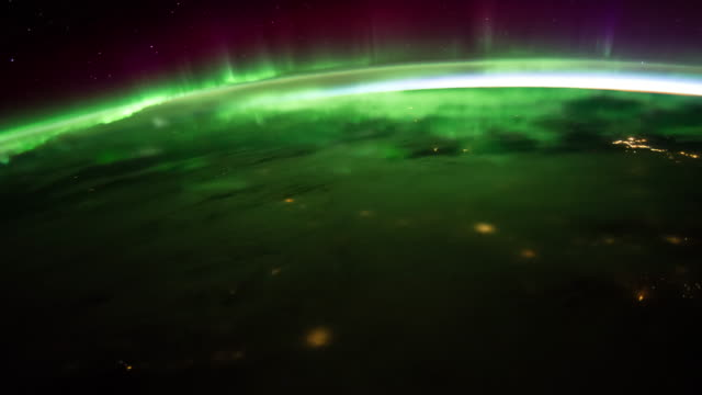 Aurora over the Earth 4K