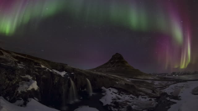 Aurora Storm Over Iceland