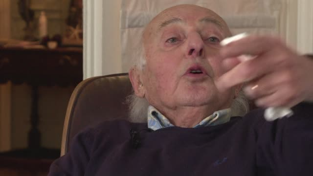 auschwitz survivor elie buzyn saw his brother killed in front of him and his parents led away to the gas chambers. after liberation in 1945, he moved... - survival stock videos & royalty-free footage