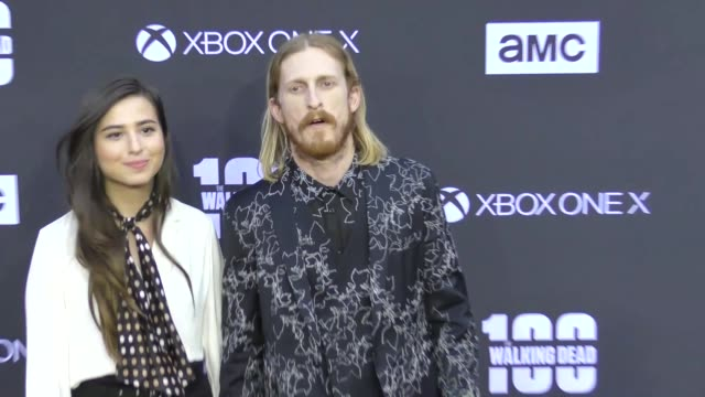 Austin Amelio at AMC's The Walking Dead 100th Episode Season 8 Special Premiere Screening at The Greek Theatre on October 22 2017 in Los Angeles...