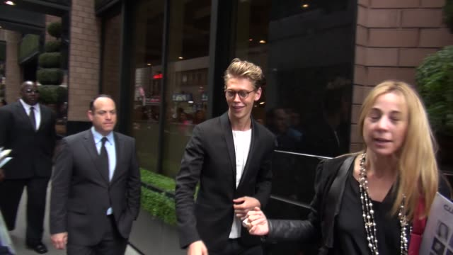 Austin Butler at the 2013 CW Upfront Presentation in New York NY on 5/16/13