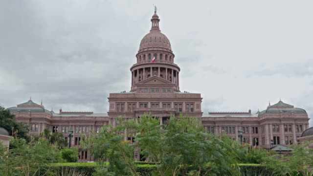 UHD 4K Austin State Capitol, Texas