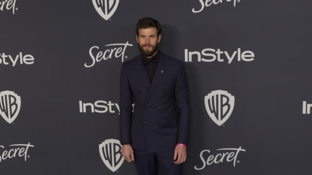 austin stowell at the warner bros and instyle host21st annual postgolden globes party at the beverly hilton hotel on january 5 2020 in beverly hills... - warner bros stock videos & royalty-free footage