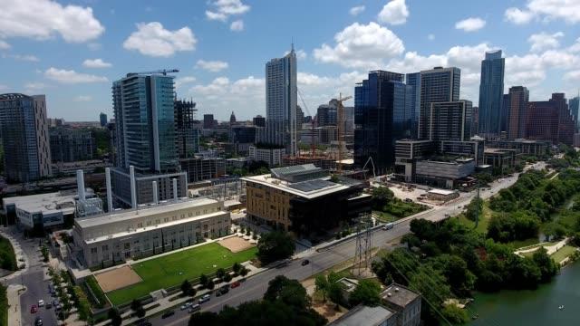 Austin, Texas aerial view