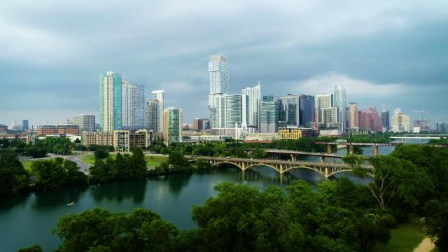 austin texas downtown - austin texas stock videos & royalty-free footage