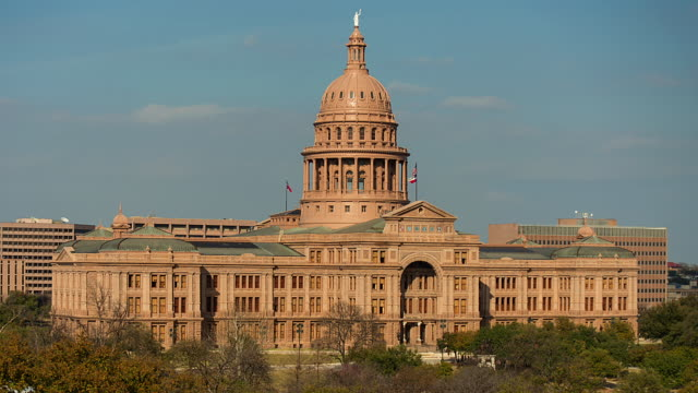 austin, texas - state capitol building - texas state capitol building stock videos & royalty-free footage