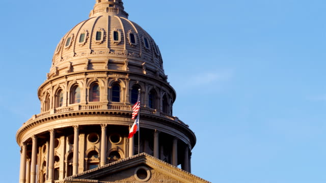 austin, tx: state capitol building - local government building stock videos & royalty-free footage