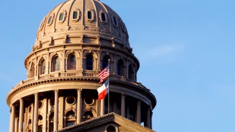 vídeos y material grabado en eventos de stock de austin, tx: state capitol building - austin texas