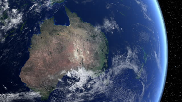 australia from space - australia stock videos & royalty-free footage