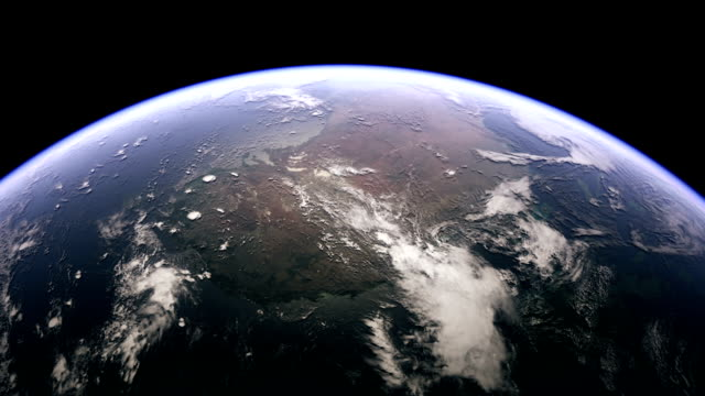 australia from space - spazio cosmico video stock e b–roll