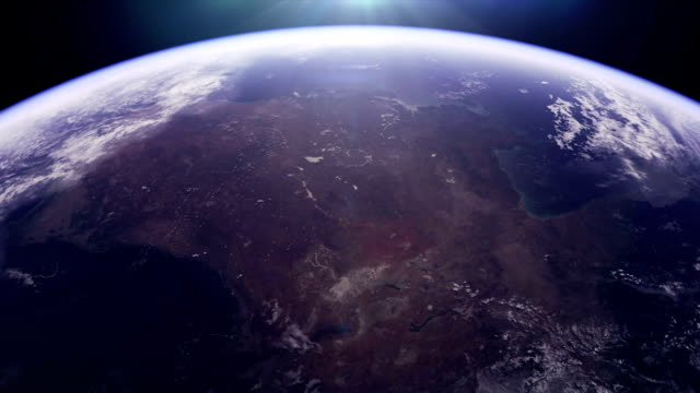 australia from space - space exploration stock videos & royalty-free footage