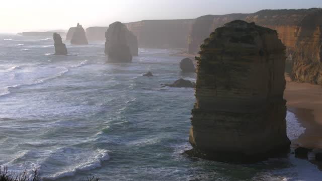 Australia Great Ocean Road 12 Apostles large sea stack