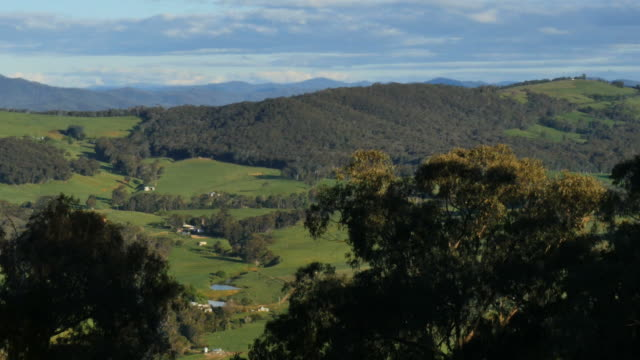 Australia Mt Bellevue view of valley pan