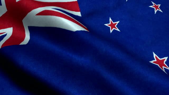 vídeos de stock, filmes e b-roll de bandeira nacional da austrália - vinheta