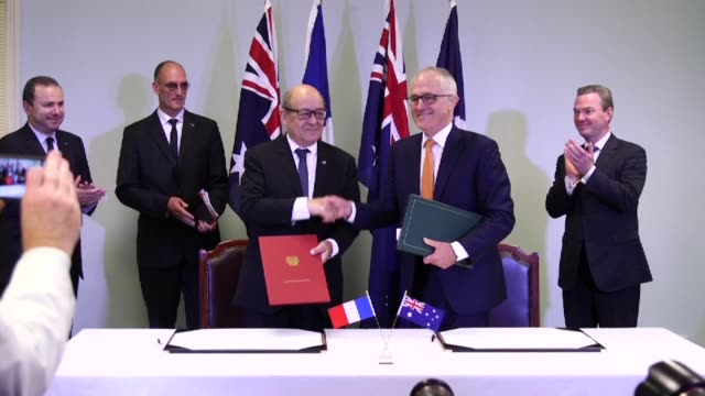 Australia signs a mega deal to purchase a fleet of next generation submarines from France with Prime Minister Malcolm Turnbull hailing the vessels...