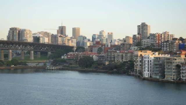 Australia Sydney approaching downtown