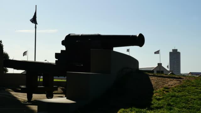 Australia Sydney cannon in a park