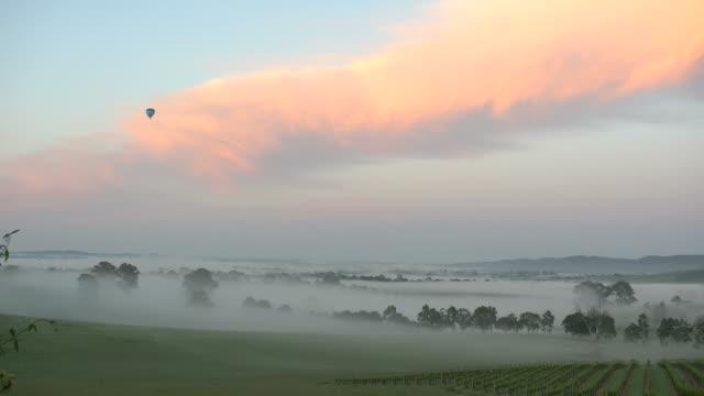 Australia Yarra Valley sunrise balloon