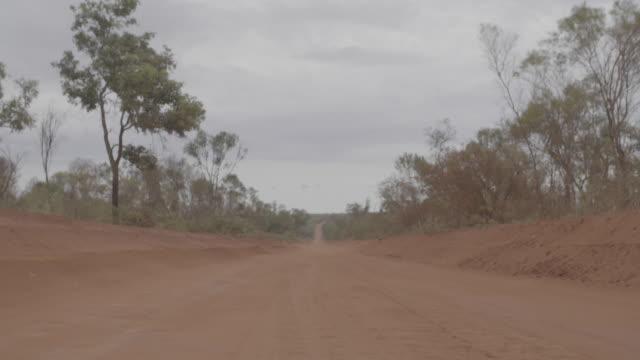 australia_16_4k_broome_kimberleys_road_outback - abandoned stock videos & royalty-free footage