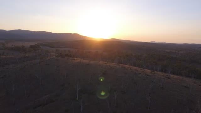 australia_16_4k_drone_landscape_sunset_2 - western australia bildbanksvideor och videomaterial från bakom kulisserna