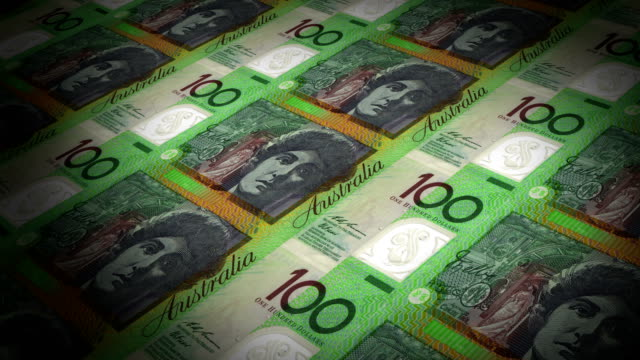 100 australian dollars printing - animation - currency stock videos & royalty-free footage